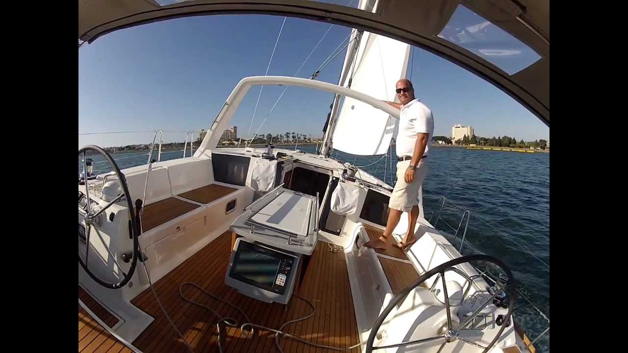 Sailing The Beneteau Oceanis 45 Alone