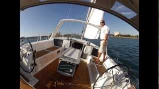Sailing the Beneteau Oceanis 45 alone
