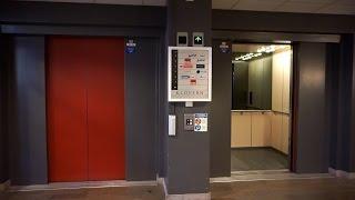 1991 OTIS series 1 traction elevators - with chime! @ Sturegatan 1, Linköping, Sweden