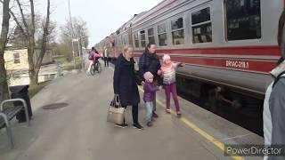 СИГУЛДА - жемчужина Латвии! Вокзал, город, природа. Виртуальный отдых. Sigulda