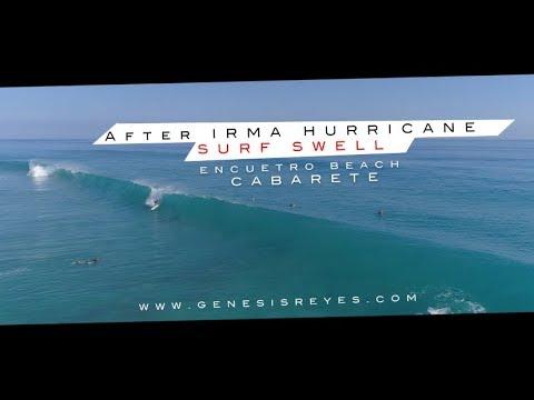 FANTASTIC SURF SWELL ! Encuentro Beach, CABARETE By www.genesisreyes.com