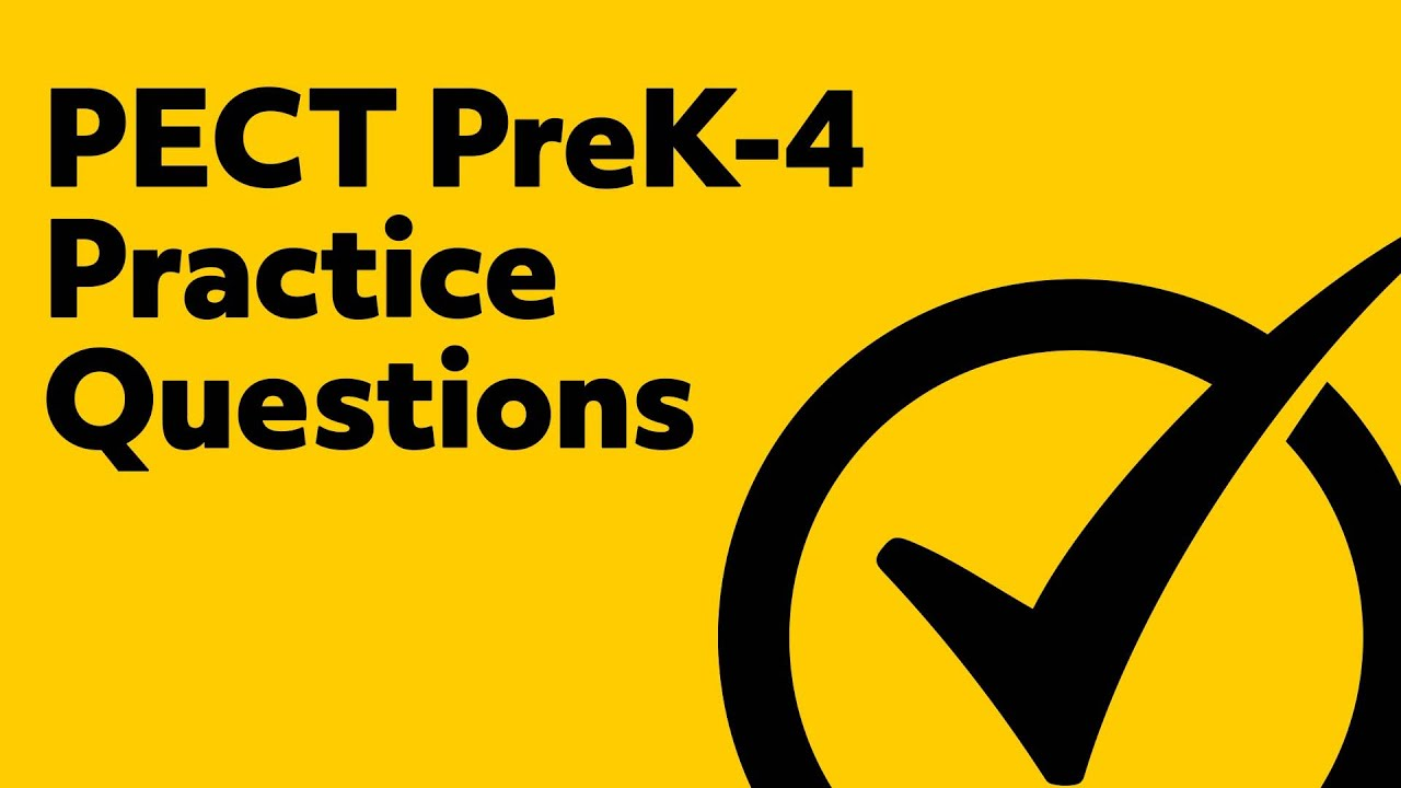 Free PECT PreK-4 Practice Test - YouTube
