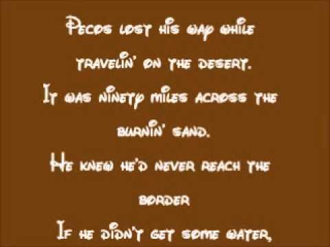 Melody Time-Pecos Bill Lyrics