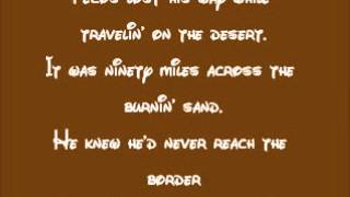 Melody Time-Pecos Bill Lyrics