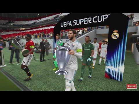UEFA SUPERCUP PES 2018 GAMEPLAY