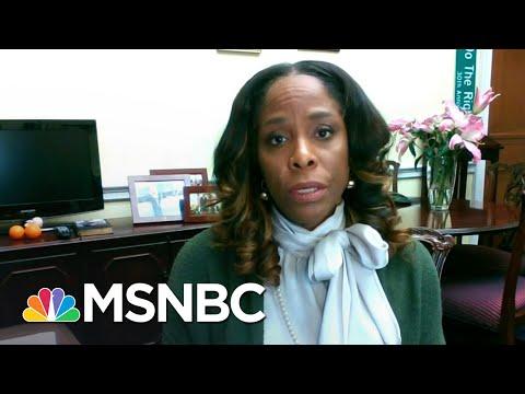 Del. Stacey Plaskett On FBI Director Wray's Senate Hearing Today | Stephanie Ruhle | MSNBC