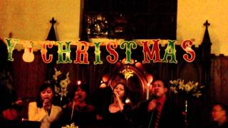 Christmas Celebration - Indonesian Song - Dec 3rd 2011
