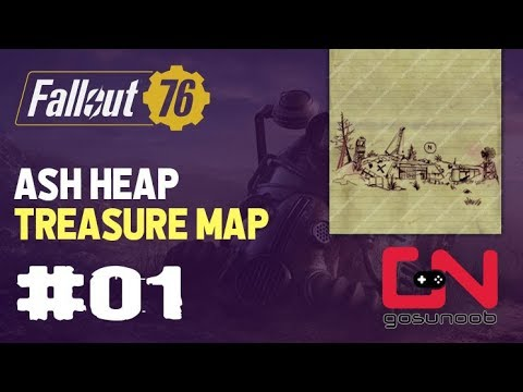 fallout 76 ash heap treasure map