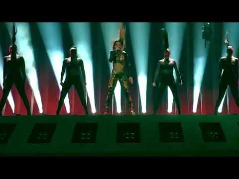 Eleni Foureira - Fuego First semi-final jury show Eurovision 2018 Cyprus
