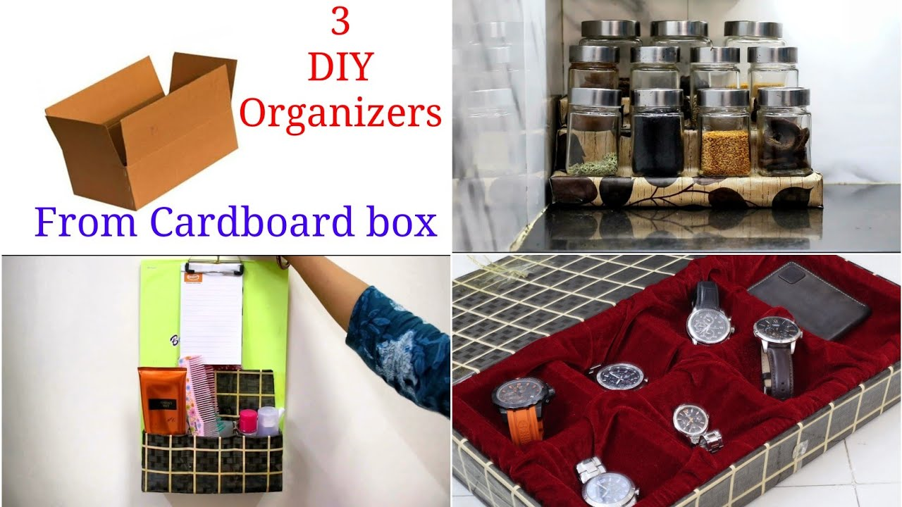 3 DIY Organizers for Kitchen and Home - Home Organization Ideas
