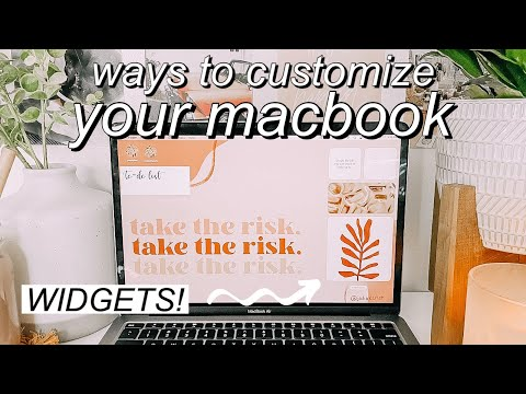 *macOS big sur* macbook organization + customization tips/tricks! MUST DO!! aesthetic widgets!!