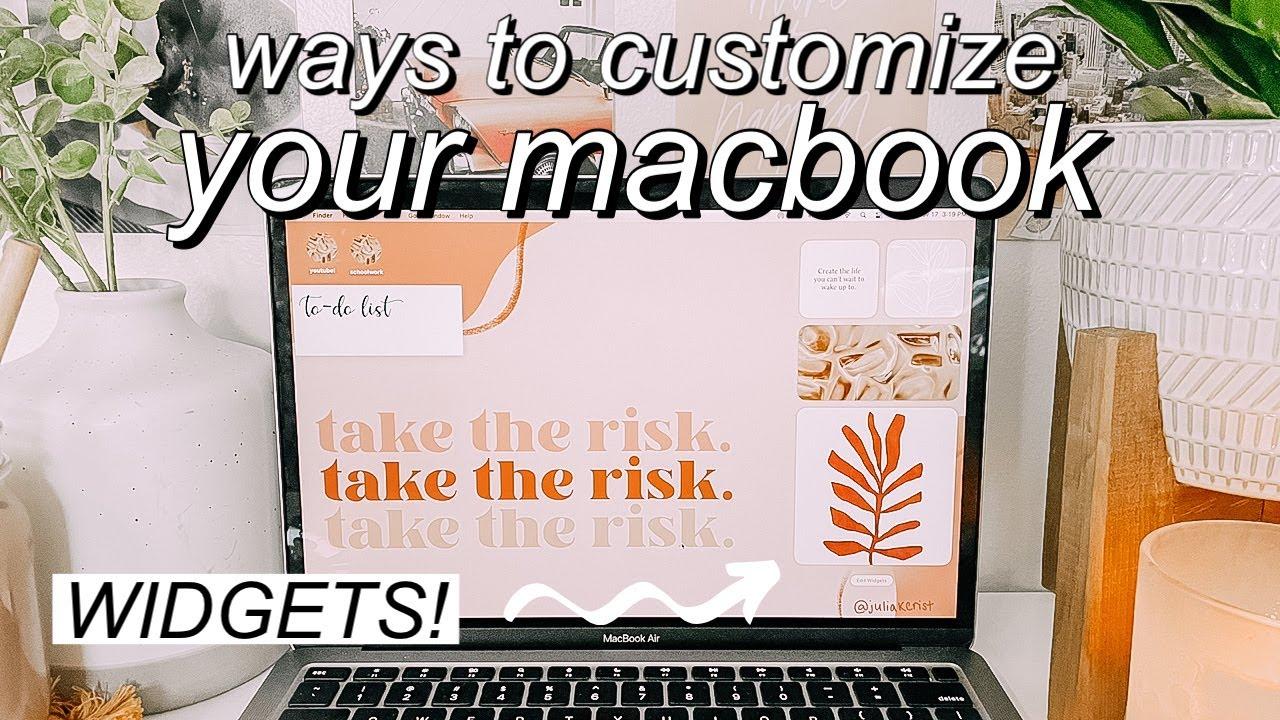 Macbook Organized Background