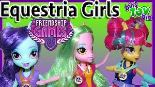 Equestria Girls Friendship Games Sour Sweet, Sunny Flare & Lemon Zest! Review by Bin