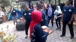 Anniversary Pertama Trah Gayenk pas goyang maumere