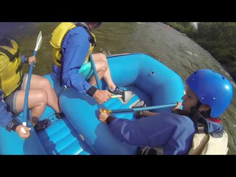 White water rafting Browns Canyon on the Arkansas River