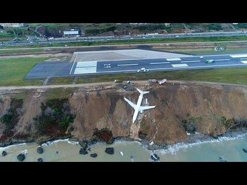 Trabzon'daki uçak kazasında plotaj hatası iddiası