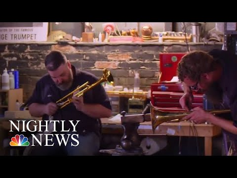 'Horn Doctor' Keeping Jazz Alive In Kansas City | NBC Nightly News