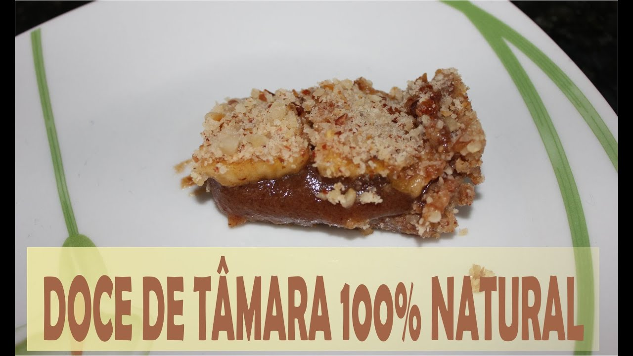 Top Bombom de Tâmara de travessa | Doce fit 100% natural - YouTube WF77