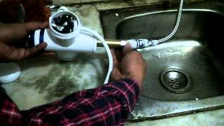 Classic Style Instant Heating Electric Tap - Troubleshoot