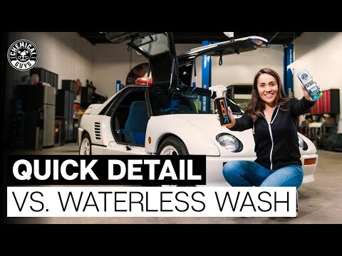 What Is The Difference Between Waterless Wash & Quick Detail Spray? - Chemical Guys