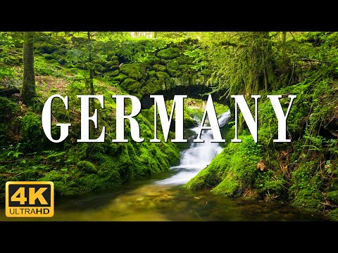 Germany 4K Video | Beautiful Destinations with Calming Music for Relaxation, Wellness, Sleep.