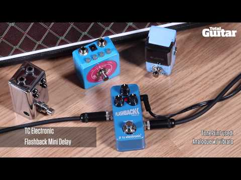 Mini Effects Pedal Shootout Demo: Delay (Joyo, Mooer, Red Witch, TC Electronic)