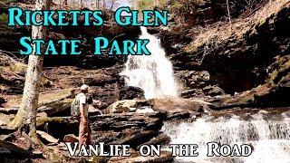 Ricketts Glen State Park, Pennsylvania - VanLife on the Road