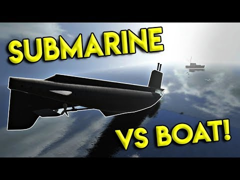 HUGE MILITARY SUBMARINE VS BOAT! - Disassembly 3D Gameplay - EP 8