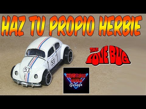 Haz a Herbie Fácil con VW Hotwheels