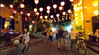 The Incredible Night Scene in Hoi An, Vietnam
