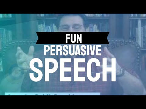 100 Easy Persuasive Speech Topics and Guide