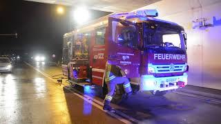 tödlicher Verkehrsunfall auf der B178 beim Umfahrungstunnel Bruckhäusl