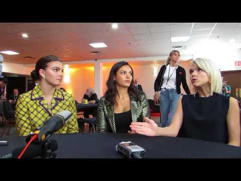 NYCC17: Gotham Sirens Camren Bicondova Jessica Lucas Erin Richards
