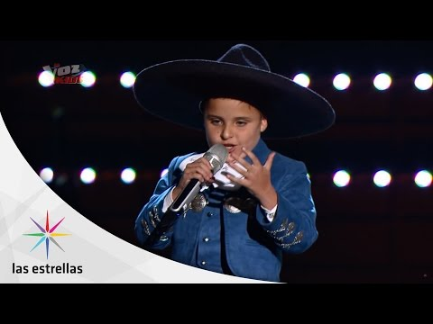 La Voz Kids: Ponchito   #ConLasEstrellas