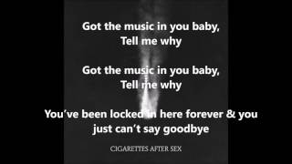 Apocalypse - Cigarettes After Sex (LYRICS)