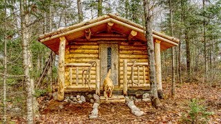 My Self Reliance Steps for the Sauna | Off Grid Living at my Wilderness Cabin