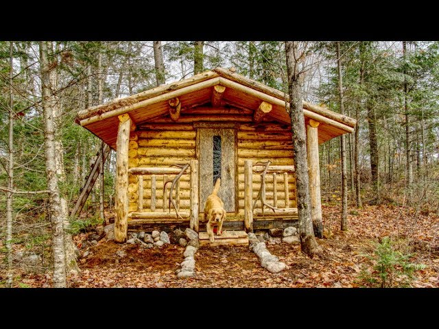 Steps for the Sauna | Off Grid Living at my Wilderness Cabin
