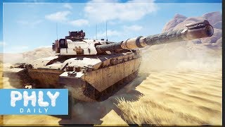 IMPENETRABLE TURRET...Well Yes & No | BRITISH Challenger MBT (War Thunder 1.77)