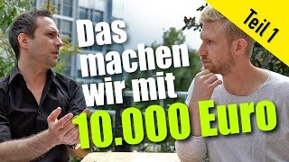 So investieren wir 10.000 Euro in Aktien – Teil 1 // Mission Money