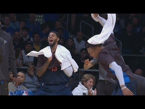OKC Dominates Lakers! Terrance Ferguson Windmill! 2017-18 Season