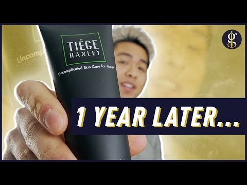 TIEGE HANLEY REVIEW: 1 Year Update | Why I'm Still Using It (Men's Skin Care Routine 2020)