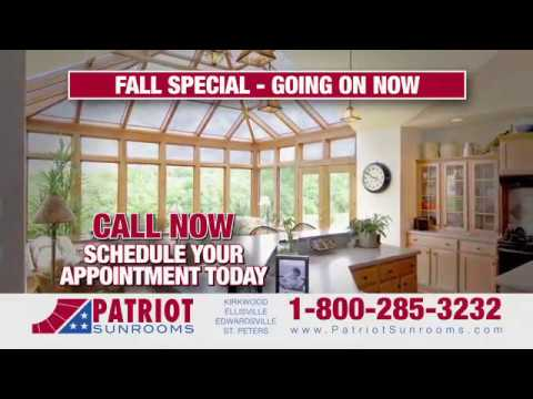 Patriot Sunroom   Fall Special   Going On