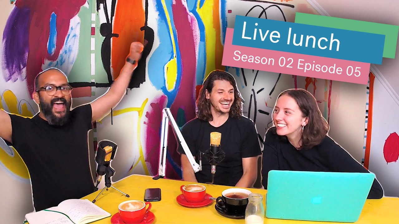 With Simon Brading | #Livelunch Season 2 Episode 5 Cover Image