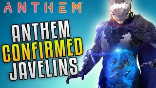 """Anthem All Javelin Classes So Far! Anthem E3 2018 Gameplay """"EA Play Press Conference"""""""