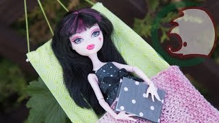 Как сделать гамак для кукол. How to make hammock for dolls.(Летом хочется валяться на солнышке и ничего не делать. Наши куклы решили приобрести гамак. Теперь ои смогут..., 2015-06-07T04:39:11.000Z)