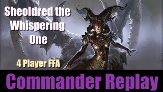 Commander Gameplay - Sheoldred The Whispering One