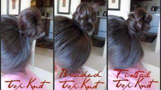 How to do a Top-Knot + Ways to Spice it Up! Thumbnail
