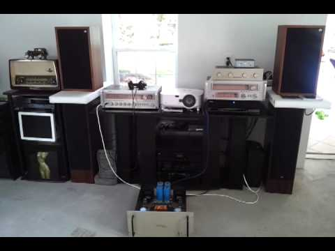 Dvorak Symphonie Conrad Johnson tube preamp/amp