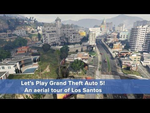 Let's Play GTA5: An aerial tour of Los Santos