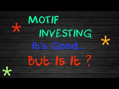 Motif Investing Features & More